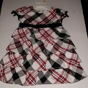 The Children's Place Dresses - Toddler Girl's Tiered Holiday Dress